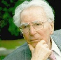 Viktor Frankl in Denkerpose